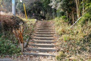 登山口ー常山城跡ー