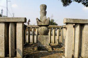 戸川友林の墓
