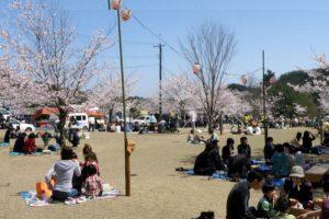 花見広場ーみやま公園ー