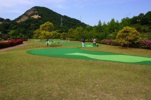 ミニパターゴルフ場ー深山公園ー