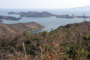 長島方面ー大平山野鳥の森よりー