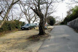 駐車場ー常山城跡登山道付近ー