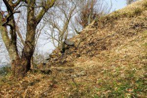 栂尾丸の石垣跡ー常山城ー