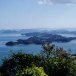 直島諸島方面ー十禅寺山よりー