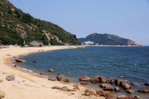 渋川海岸遠望ー王子が岳下よりー