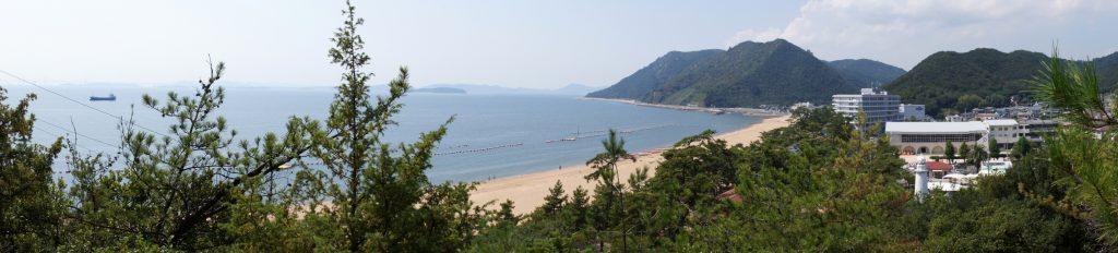 渋川海岸ーパノラマー