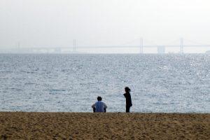 瀬戸大橋ー渋川海岸よりー
