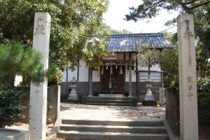 渋川八幡宮拝殿