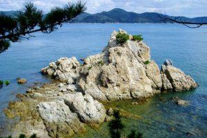 夫婦岩ー大多府島ー