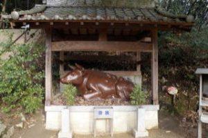 備前焼の牛ー田倉牛神社ー