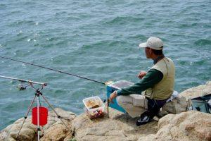 釣り風景ー大多府島ー