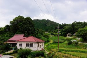 旧三国郵便局ー八塔寺ふるさと村ー