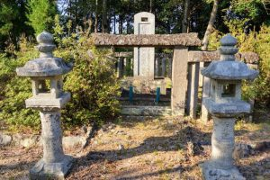 二代 池田長明の墓