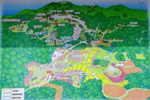 案内図ー八塔寺ふるさと農園ー