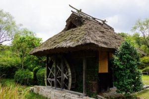 水車小屋ー八塔寺ふるさと村ー