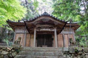 拝殿ー八塔寺 日吉神社ー