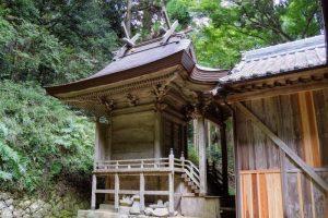 本殿ー八塔寺 日吉神社ー