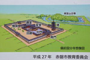 備前国分寺想像図