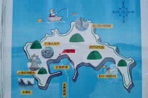 大多府島案内図