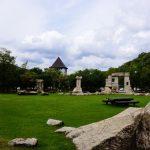 石彫刻広場ー八塔寺川ダム公園ー