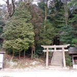 参道と鳥居ー田倉牛神社ー