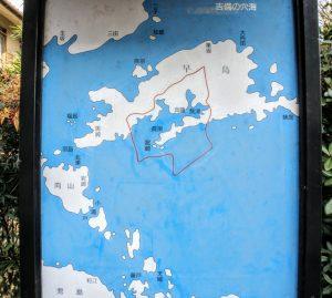 古代早島周辺地図