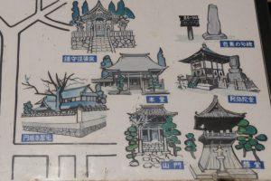 案内図ー本宮山円城寺ー