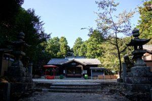拝殿ー熊山神社ー