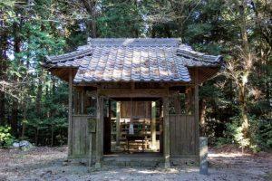 拝殿ー熊山猿田彦神社ー
