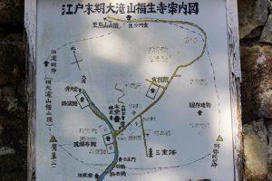 案内図ー大瀧山福生寺ー