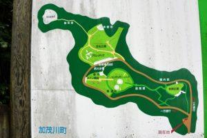案内図ーいわくら公園ー