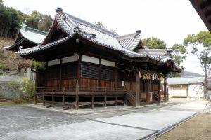拝殿ー鴨神社ー