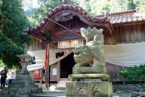 拝殿ー加茂総社宮ー