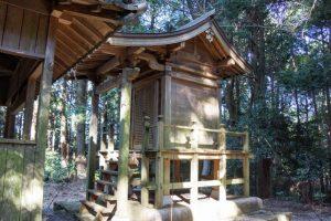 本殿ー熊山猿田彦神社ー
