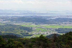 水島・金光方面ー遥照山総合公園よりー
