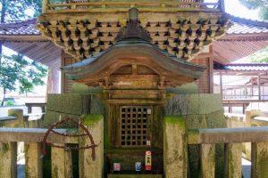 本殿裏の神社ー円城寺提婆宮ー