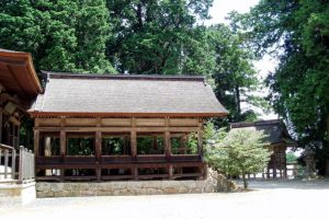 拝殿ー吉川八幡宮ー