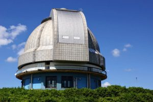 188センチ反射望遠鏡ドームー国立天文台岡山天体物理観測所ー