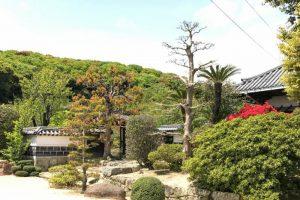 庭園入り口ー仏心寺ー