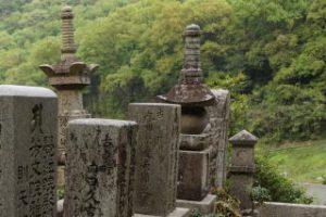 内田百閒の墓地