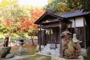 拝殿ー日吉神社ー