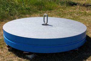 鉄製188㎝主鏡模型ー国立天文台岡山天体物理観測所ー