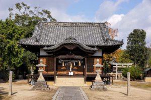 拝殿ー石高神社ー