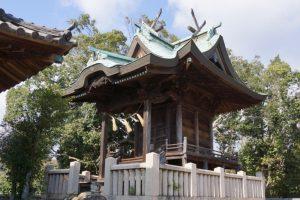 本殿ー石高神社ー