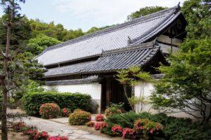 庭園入り口ー曹源寺ー