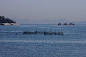 三郎島(三ツ山)方面ー青佐山御台場展望台よりー