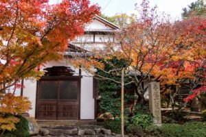 書院玄関ー松琴寺ー