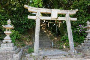 阿保田神社参道