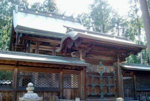本殿ー安仁神社ー