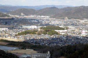 瀬戸・東平島方面ー高尾展望台よりー
